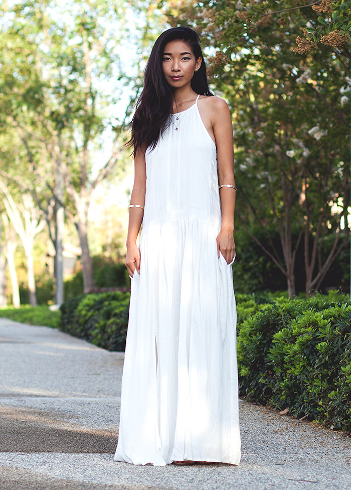 Stephanie Liu of Honey & Silk wearing Three of Something