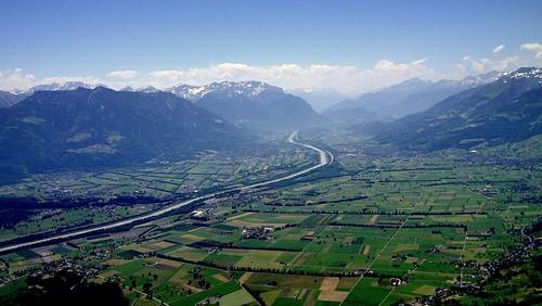 alps landscape schweiz switzerland scenery swiss alpine valley liechtenstein rheintal rhine stgallen rhein appenzell iphone rhinevalley hoherkasten 5photosaday peterch51 flickrtravelaward