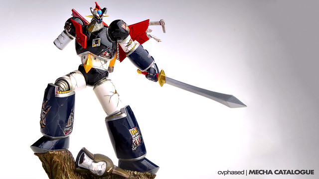 E2046 - Gathering Mazinger Z Damaged Ver.