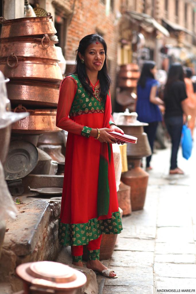 Street style Patan, Nepal