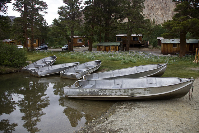 Five Boats at Rest