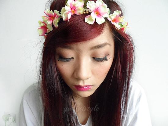 festival makeup idea
