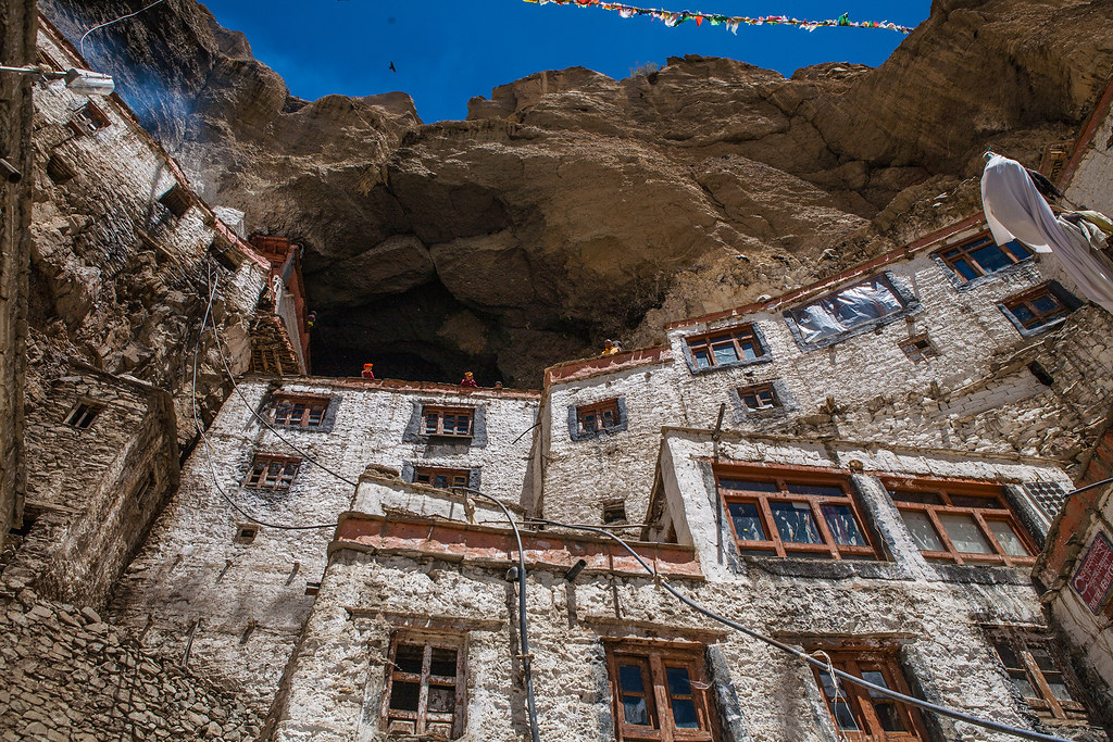 India - Phuktal monastery, Zanskar valley