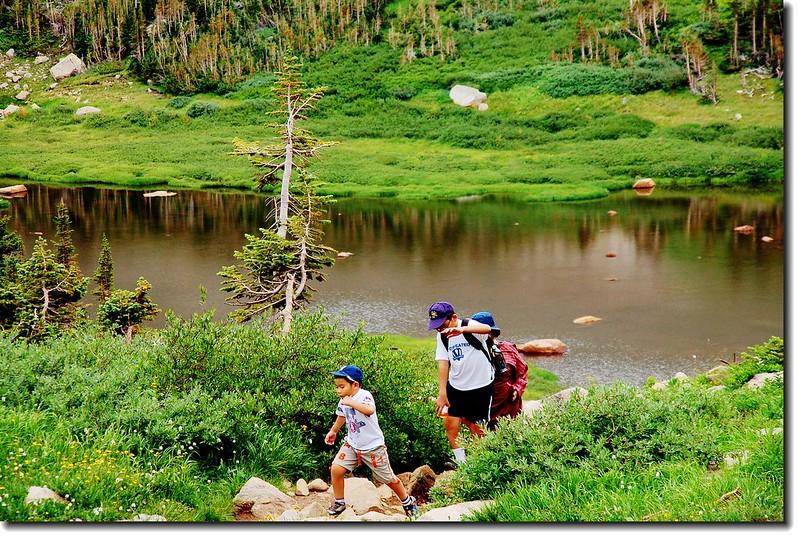 Mitchell Lake Trail 2