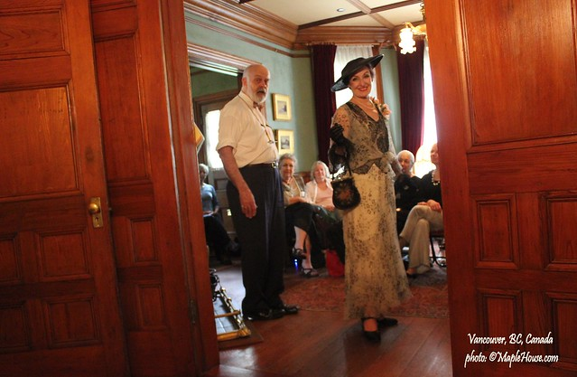 Summertime Fashion Show by Ivan Sayers Vancouver Roedde House Museum