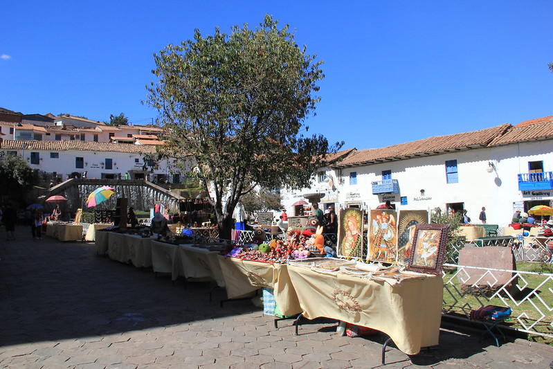 San Blas weekend market