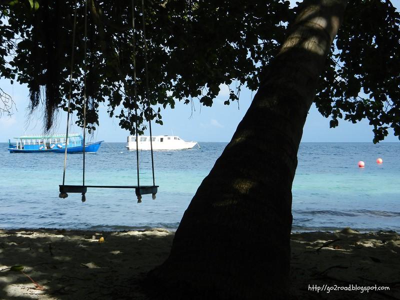 Море, качели, корабли