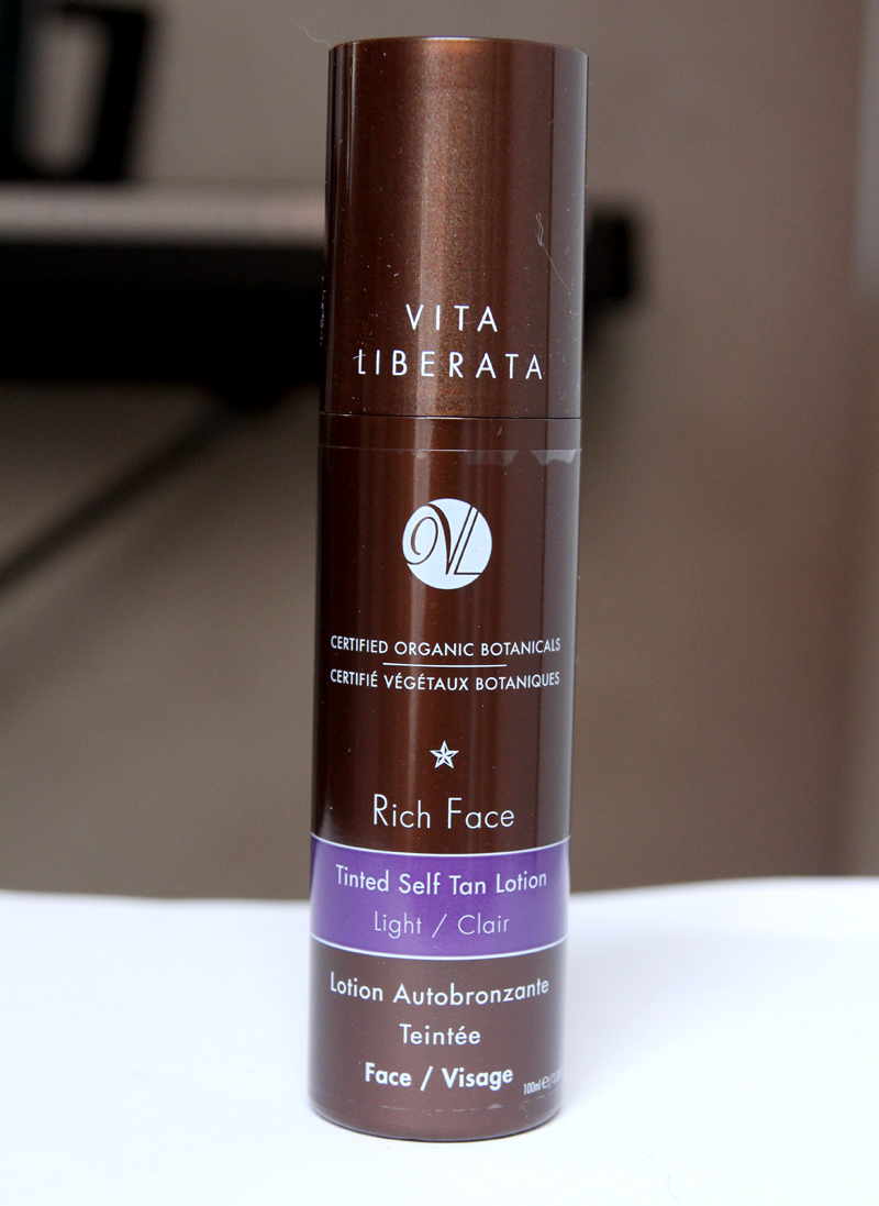 Vita liberata rich face tinted self tan lotion