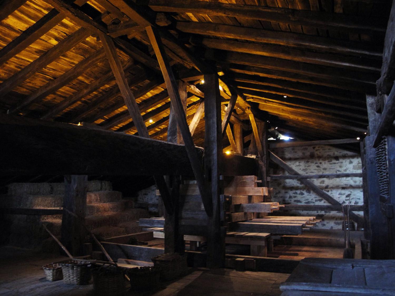 caserio igartubeiti_lagar_unico conservado en buen estado_recuperado_pino de francia
