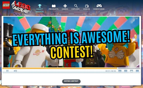 The LEGO Movie - The Emmet Awards - Everything is Awesome Contest