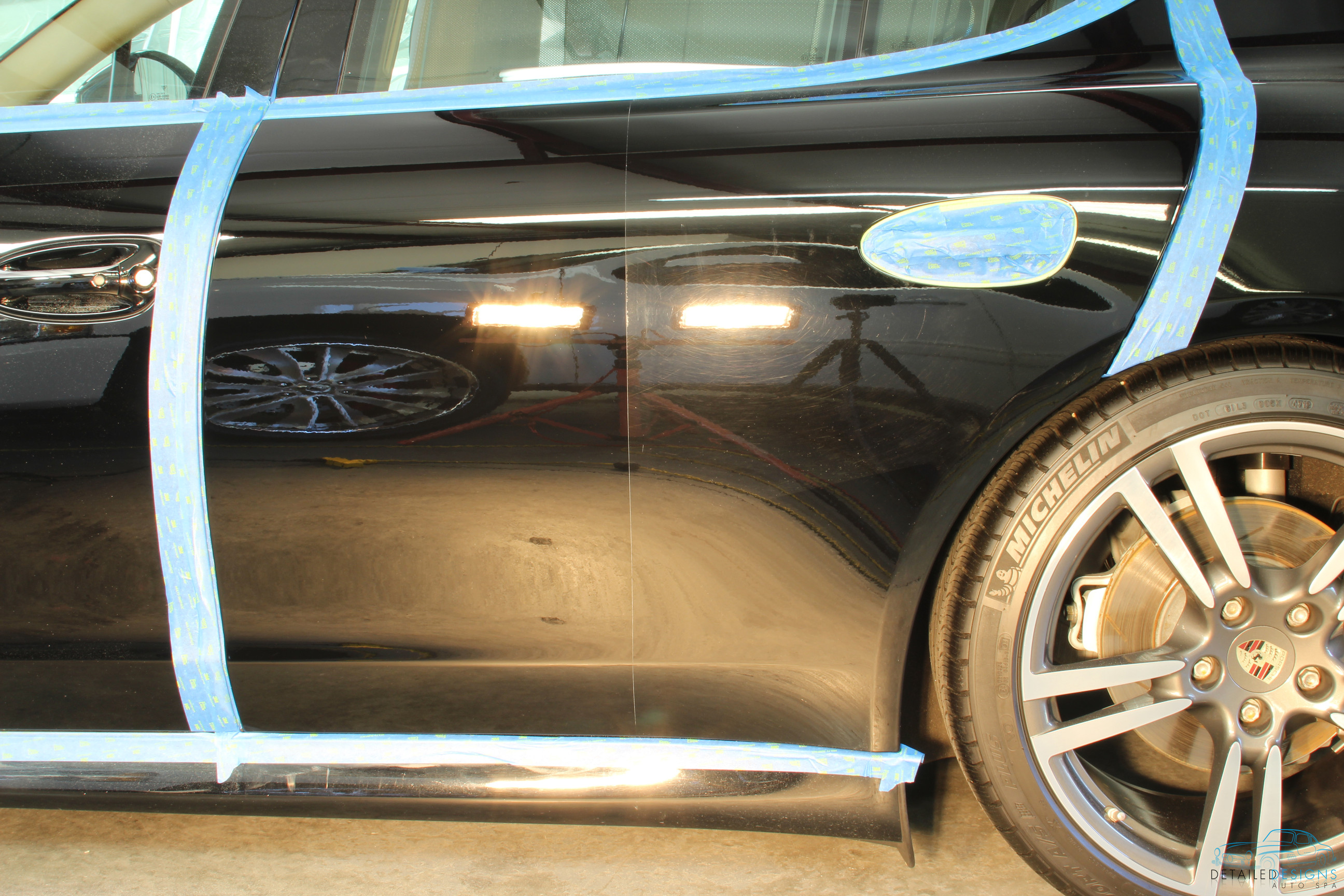 Detailed Designs Auto Spa Paint Correction Swirl Removal Atlanta