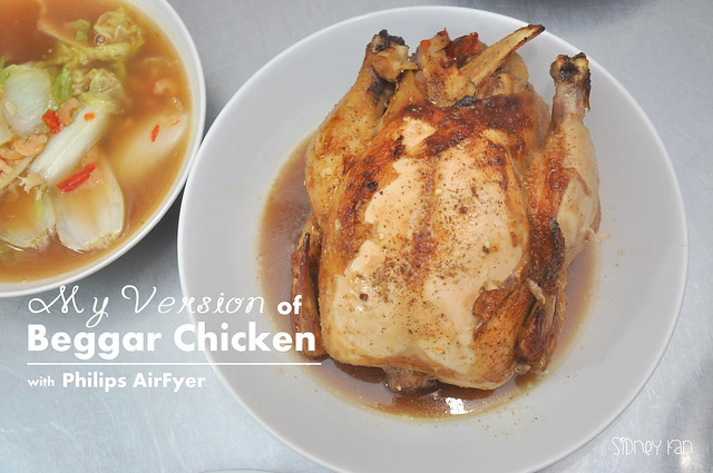 Philips Airfryer Beggar Chicken