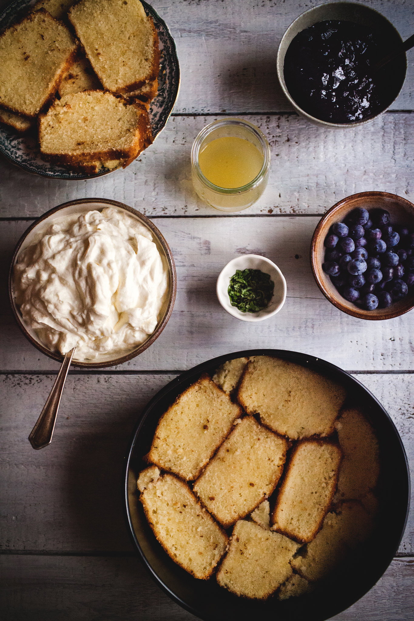 Berries & Cream Cake