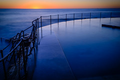 Sunrise at Bronte Baths