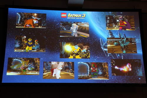 LEGO Batman 3: Beyond Gotham SDCC 2014 Panel