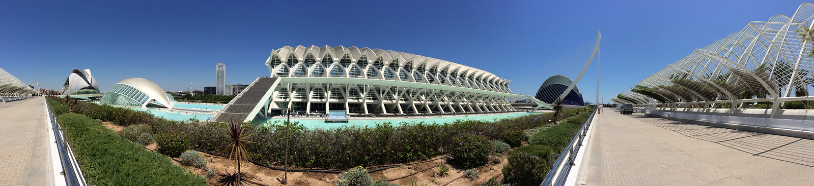 Panorama of the City of Arts and Sciences