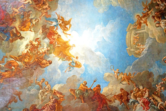 France-000320B - Hercules Room Ceiling
