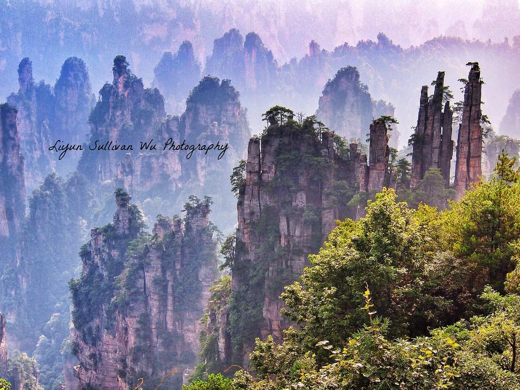 Zhangjiajie,Hunan