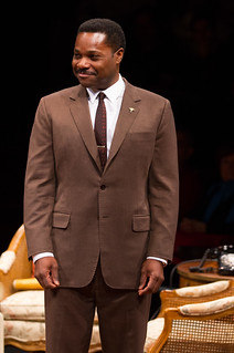Malcolm-Jamal Warner as Dr. John Prentice in 'Guess Who's Coming To Dinner,' a funny and poignant stage adaptation of the beloved Academy Award-winning film directed by David Esbjornson, playing Sept. 5 — Oct. 5, 2014 at the Avenue of the Arts / BU Theatre.