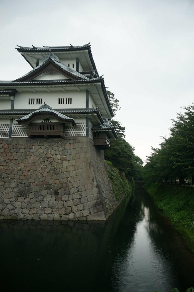 Kanazawa Castle Moat
