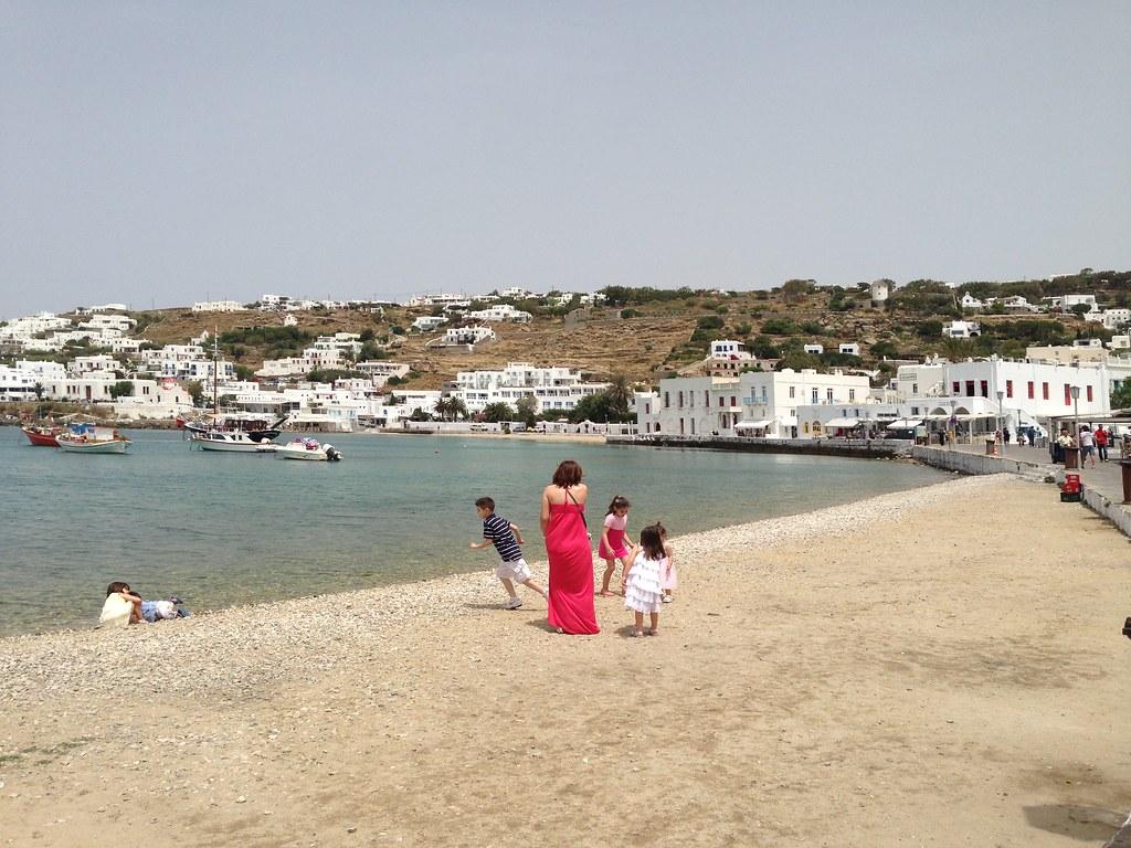 Mykonos- Town Bay