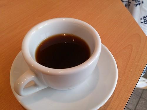 ホシカワカフェ休憩でもらったブラックコーヒーが旨すぎる。