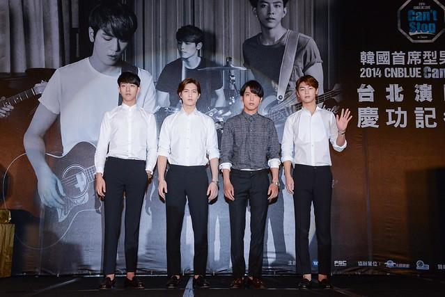 全台熱音社心目中之藍色旋風--CNBLUE首席樂團登台