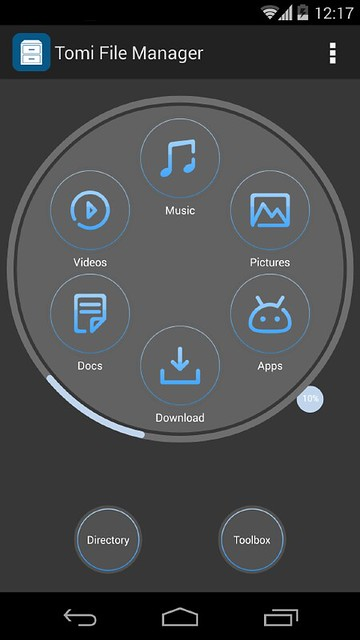 APP][3 0+]Tomi File Manager Application Man… | Android Development