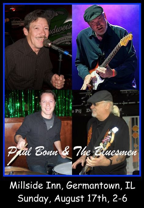Paul Bonn & The Bluesmen 8-17-14