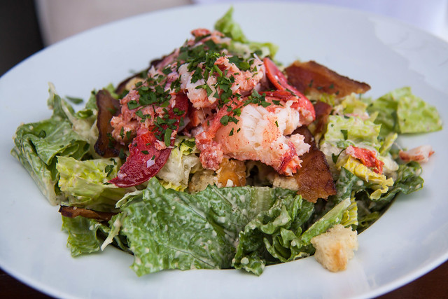 Lobster salad at moonshadows malibu california flickr for Absolutely delish cuisine