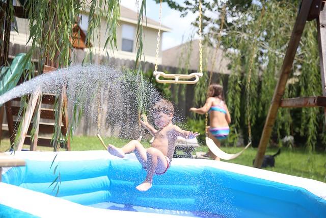 Splashin' fun!!