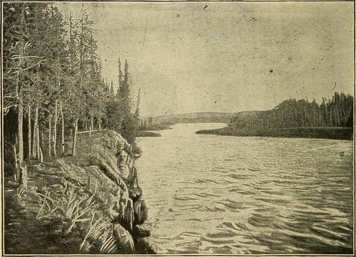 """lebarge lake from the book """"The Call of the Wild  (1903)"""" by Jack London"""
