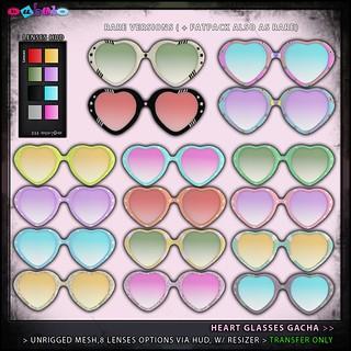 Heart Glasses Gacha AD