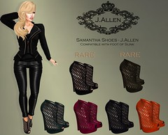 Samantha Shoes - J.Allen Coming Soon OMG ROOM