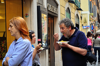 lunch time in Rome
