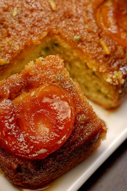 Apricot and Pistachio Cake