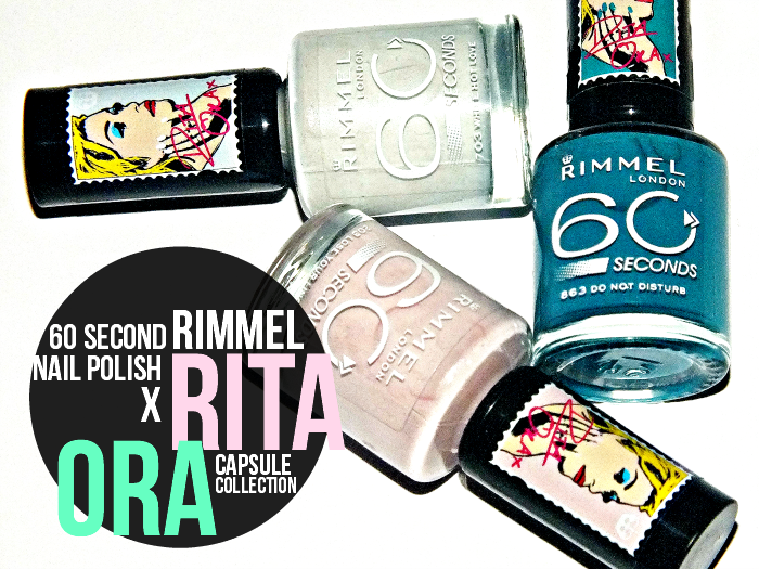 rimmel 60 second nail polish x rita ora  (1)