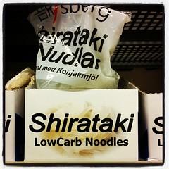 Bra att veta att Kvantum säljer Shirataki-nudlar.