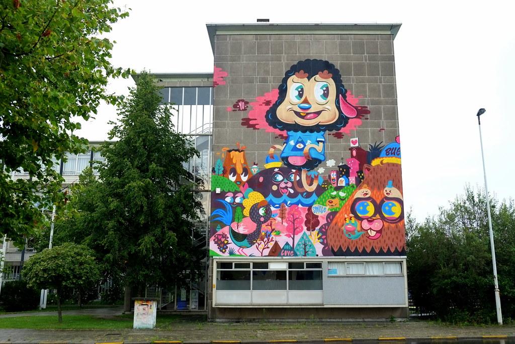 mural | bue | antwerp-luchtbal. belgium