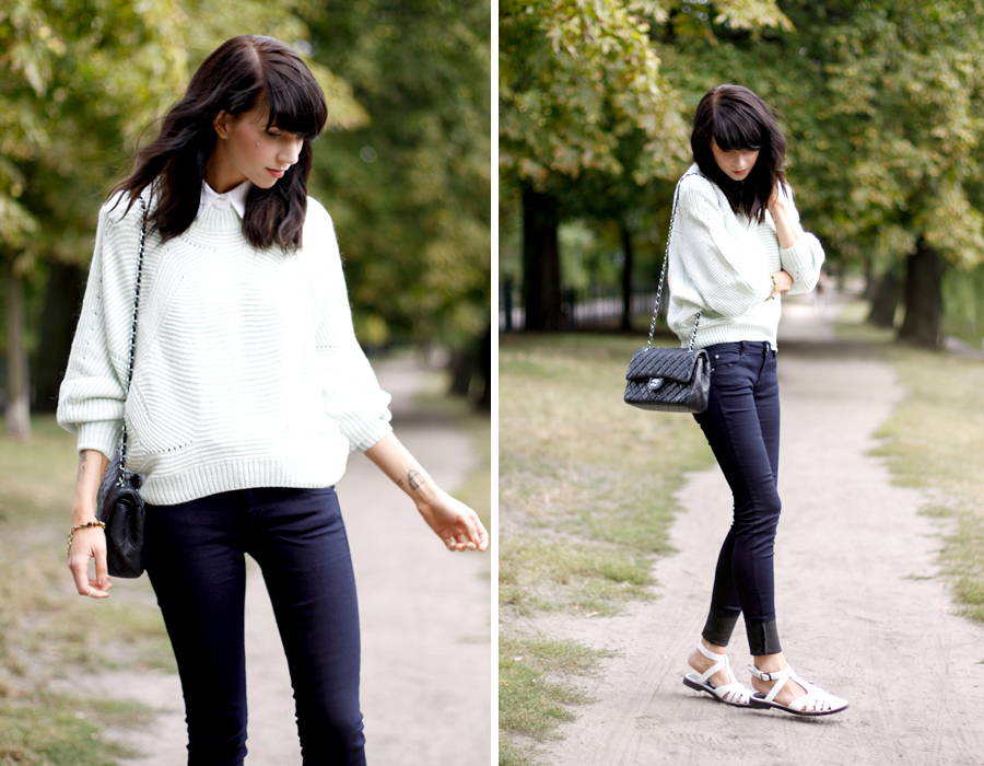 Fashion Pills Sojeans ASOS Chanel 2.55 white shirt preppy look ootd outfit style blogger fashion berlin Ricarda Schernus CATS & DOGS 5