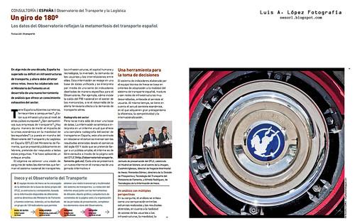 Publicación en revista itransporte