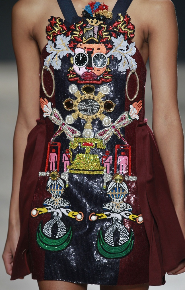 FW14 MARY KATRANTZOU LONDON 2/16/2014