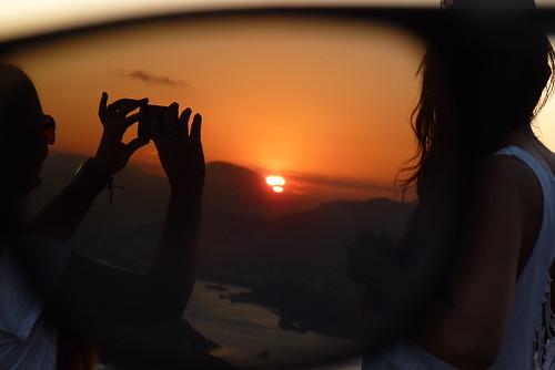 girls friends light sunset brazil sky sun nature sunglasses brasil photo céu