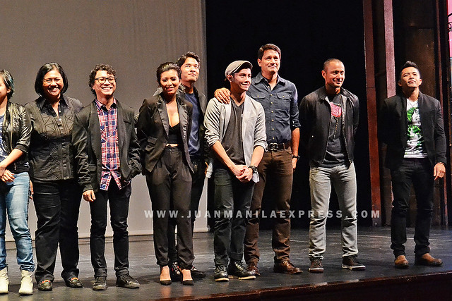 CASTS OF THE JANITOR. Some of the casts of the film during the Gala Night at CCP Main Theater.