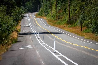 Issaquah-Preston Trail cycle track