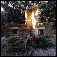Stoney-Baynard Plantation Ruins  #stoneybaynard #plantation #ruins #hiltonhead #history #historic #lowcountry #tabby #dusk #goldenhour #daytrip