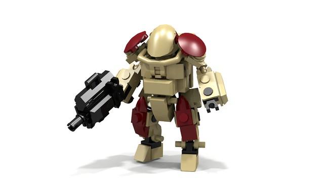 A.I.U Battlesuit