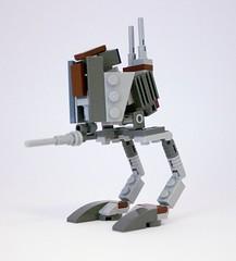 LEGO STAR WARS - CUSTOM AT-RT REPUBLIC WALKER - CLONE WARS - Brown