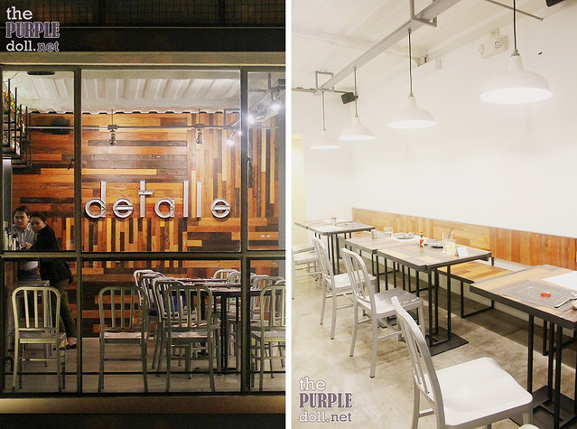 Detalle Bar and Kitchen Ortigas
