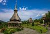 Bârsana Monastery, Maramureș, Romania